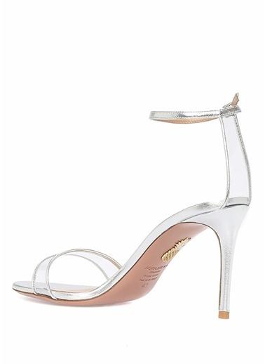Aquazzura Ayakkabı Gümüş